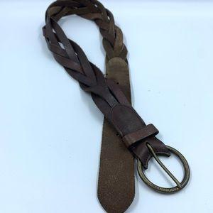 Abercrombie & Fitch Womens Medium Belt Leather